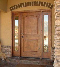When Is It Time To Replace Your Exterior Door? | UberDoors · Exterior  DoorsKnotty AlderFront ...