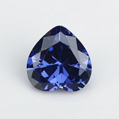 50PCS Size 3x3~12x12mm AAAAA Tanzanite Heart Shape Europe Machine Cut Loose Cubic Zirconia CZ Stone For Jewelry Diy (7x7mm 50pcs) >>> Read more at the image link.