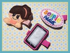 Selfie addict Set Embroidery Files