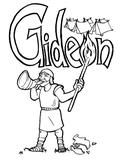 Gideon Coloring Page – Children's Ministry Deals Sunday School Crafts For Kids, Sunday School Lessons, Childrens Ministry Deals, Children Ministry, Gideon Bible, Free Bible Coloring Pages, Sunday School Coloring Pages, Bible Crafts, Kids Church