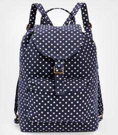 Polka Dot Backpack by Baggu.