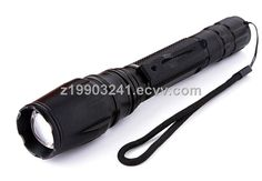 high power aluminum rechargeable led flashlight and torch made in China by manufacturer (T6G-2) - China zoomable emergency T6 CREE rechar...