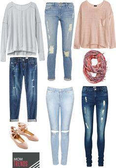 How to Wear Distressed Jeans   MomTrends