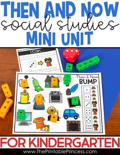Perfect for Kindergarten or First Grade, this Then and Now / Long Ago and Today mini unit was designed to help students understand how things have changed from long ago to today. Works great during the month of November, as part of a Thanksgiving unit but