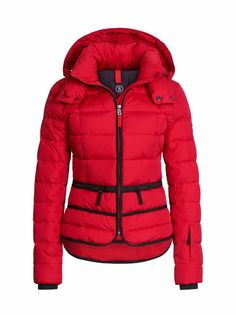 DOWN SKI JACKET IMY in Red for Women   BOGNER USA