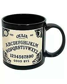 Ouija mug.
