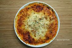 Gourmet Girl Cooks: Lasagna Pie (Grain-free)...Who said Lasagna Needed to Be Square?