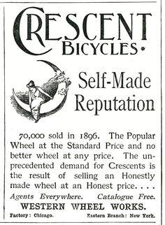 Crescent Bicycles Digital Art