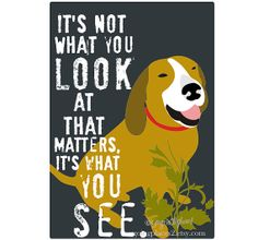 Coonhound Inspirational Dog Art Hunting Dog by GoingPlaces2, $14.00