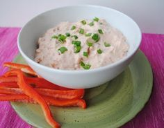 Eat Yourself Skinny!: Spicy Sun Dried Tomato Spread 1/4 cup = 2 pts