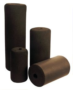 Foam Roller 16 x4x 40mm ID (Pair) Foam roller(Foam Pad) for exercise equipment leg curl, leg extension. Pec dec (Butter Fly) etc.. Clinic, Health club, industrial use. Sold as pair(2 pieces).  #AderSportingGoods #Sports