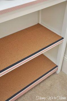 Bookshelf | Creative Ways to Personalize with Washi Tape