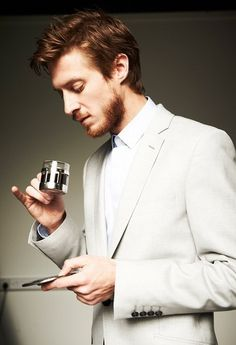 Arthur Darvill- drinking tea like a boss. What is it with all of these amazingly talented & handsome British men?!