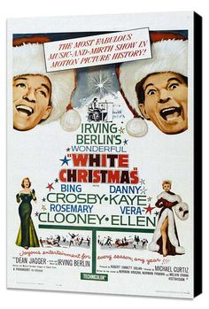 """White Christmas"" Movie Poster. Christmas Tradition."