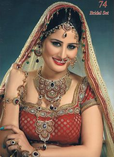 SUPER SALE With FREE Shipping Indian Bridal by BeautyShop21, $205.00