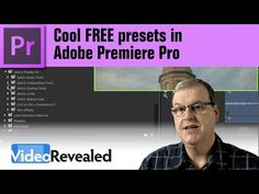 Cool FREE presets in Adobe Premiere Pro - (including removing reverb)