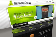 Internal website build to cell banner displays for charity events