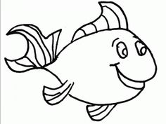 Seussville Parents This is a printable for a fish to color This