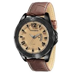 Relógio Masculino Analógico Mondaine 94719GPMVSH1 - Marrom