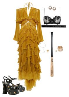 """"""" Hold Up """" by cherhorowitz95 on Polyvore featuring Roberto Cavalli, Yves Saint…"""