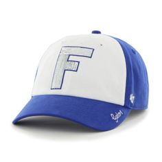 Ladies NCAA University of Florida Gators Sequined Oversized Logo Relaxed Cap  by  47 Brand University 49f3a5e911f9