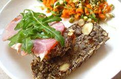 Szybkie gotowanie : Chleb zmieniający życie - bez mąki, z samych ziaren (najzdrowszy chleb na świecie) Meatloaf, Food And Drink, Tasty, Beef, Diet, Bakken, Meat, Steak