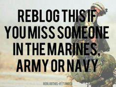 I miss my navy man.