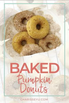 This pumpkin spice donut recipe will serve you well all year round and is a great alternative to the traditional donut flavors - it's also a little healthier than traditional deep fried donuts. Deep Fried Donuts, Baked Donuts, Doughnuts, Pumpkin Spice Donut Recipe, Donut Flavors, Baked Donut Recipes, How To Make Pumpkin, Delicious Donuts, British Baking