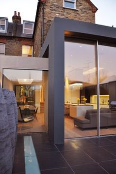 View full picture gallery of Chiswick House Building Extension, Extension Ideas, Glass Extension, House Extensions, Kitchen Extensions, Modern Glass House, Modern Georgian, London House, House Front