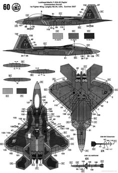 Military Weapons, Military Aircraft, Air Fighter, Fighter Jets, Airplane Drawing, F22 Raptor, Airplane Fighter, Jet Engine, Aircraft Design