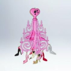 The Shoe Chandelier 2012 Hallmark Ornament