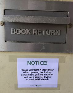 And people think bookish types don't have senses of humor?!