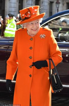 The royal visit took place ahead of the 250th anniversary of the Royal Academy of Arts, which falls in May