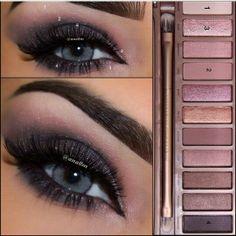 Naked 3 palette beautiful look eyeshadow