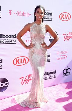 This would be an amazing reception dress! Kelly Rowland | Here's What Everyone Wore To The 2016 Billboard Music Awards