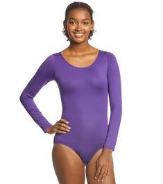 Bodysuit Tops, Long Sleeve Leotard, Yoga Dance, Dance Leotards, Stay Focused, White Style, Mauve, Stretches, Color Black