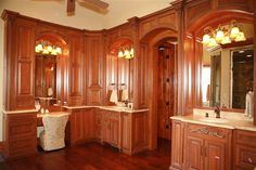 custom master bath suite
