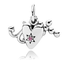 Pandora Faith, Hope And Love Trinity Pendant
