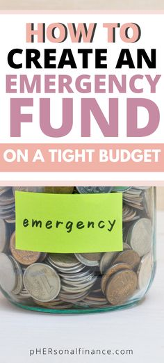 Are you broke and living paycheck-to-paycheck? Check out these money saving tips that'll help you work towards building an emergency fund today. Making A Budget, Create A Budget, Diy On A Budget, Money Saving Challenge, Money Saving Tips, Money Tips, Managing Your Money, Budgeting Money, Tight Budget