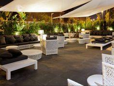 Terraza hotel SB Plaza Europa. Decoración Alado