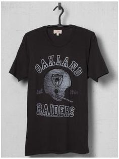 Oakland Raiders Tee   by Junk Food Clothing