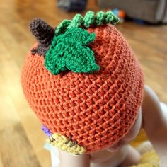 Lil'Pumpkin Patch Hat Crochet Pattern - MAMACHEEMAMACHEE