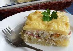 Druh receptu: Zeleninové jedlá - Page 12 of 28 - Mňamky-Recepty. Slovak Recipes, Spanakopita, Lasagna, Mashed Potatoes, Veggies, Pudding, Meat, Chicken, Baking