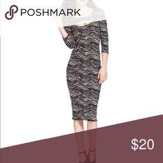 Material Girl juniors Dress Material Girl Animal - Print Cutout Dress size XS . Material : cotton / spandex ( new never worn ) Material Girl Dresses