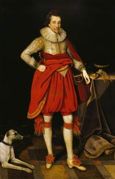 """Sir Thomas Parker of Ratton"", Marcus Gheeraerts the younger, ca. 1620; NT 872163"