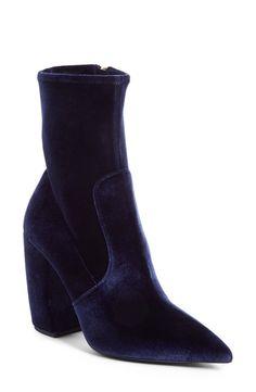 9390b235214a Prada Block Heel Bootie (Women) Black Leather Boots