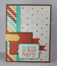 Happy Retro Fresh by lirp - Cards and Paper Crafts at Splitcoaststampers