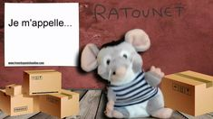 Ratounet sings My name is in French French Songs, French Phrases, French Greetings, French Resources, Teaching French, Jaba, French Language, Getting To Know You, Singing