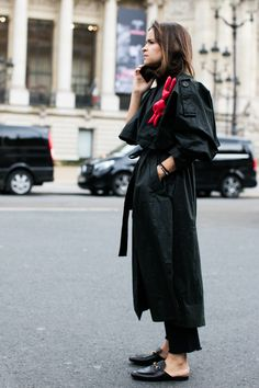 Street looks à la Fashion Week automne-hiver 2016-2017 de Paris