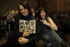 Danila Kozlovsky on the set of Vampire Academy
